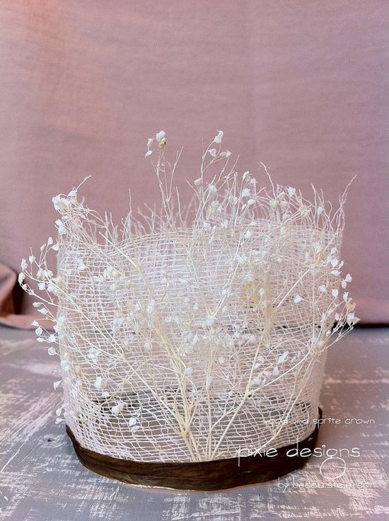 woodland princess crown for girls