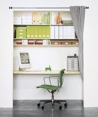 closet office by alissa