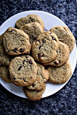 Apparently the best chocolate chip cookies!