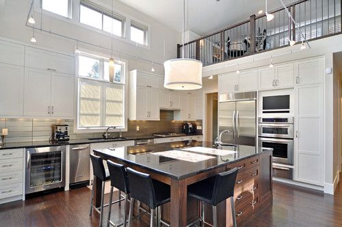 Contemporary Kitchen Photos Contemporary Glass Kitchen Tiles Design, Pictures, Remodel, Decor and Ideas - page 386