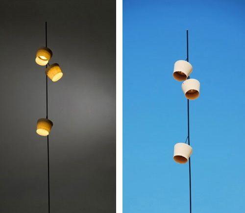 Industrial designer Nir Meiri's Desert Storm lights were inspired by just that.