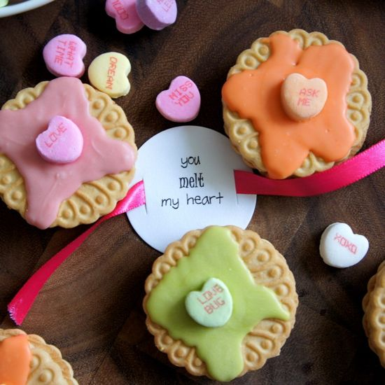 """""""You Melt My Heart"""" Cookies for Valentines Day!"""