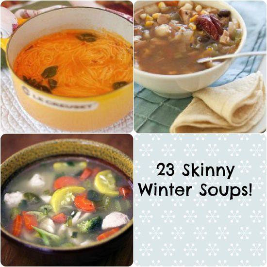 23 Skinny Winter Soups