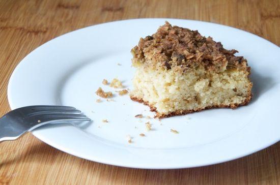 Pistachio-Coconut Chai Coffee Cake Recipe // Dula Notes