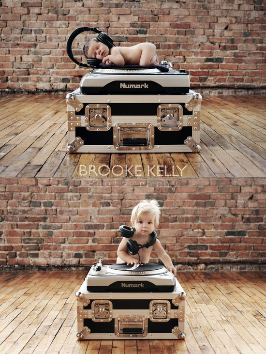 Brooke Kelly Photography -- !  Newborn and One Year later.