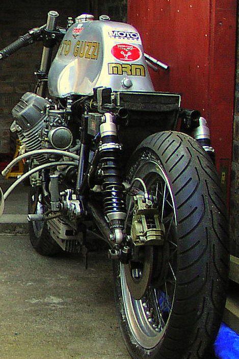 Performance Evolution: V7 Sport racer - Vintage Motorcycles Online