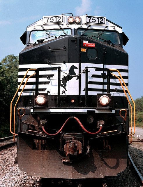 Locomotive evolution by Norfolk Southern, via Flickr