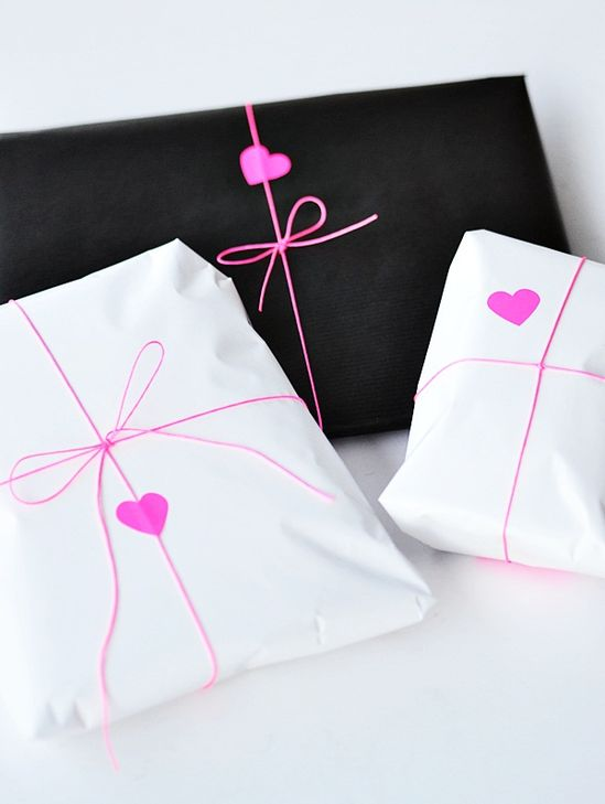 Lovely gift wrapping...