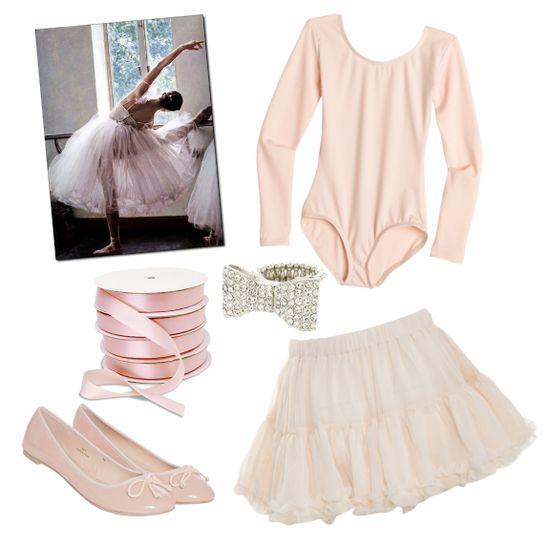 Ballerina Halloween Costume Idea