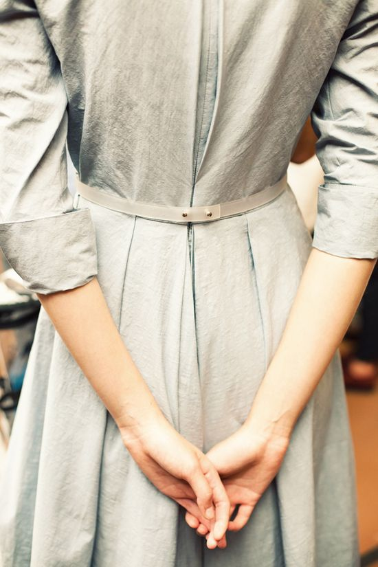 pretty pleats and lovely texture