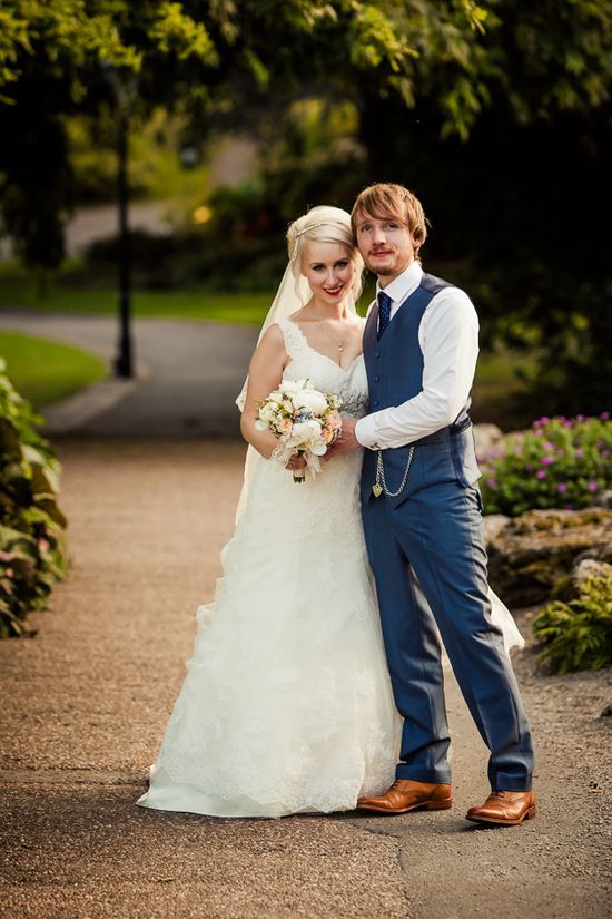Old Fashioned Romantic Wedding baughanphotograph...