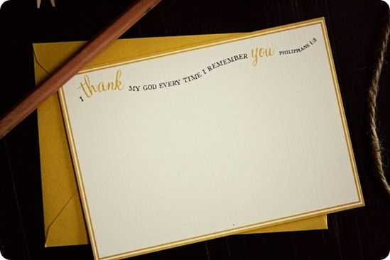 thank my God...printable cards