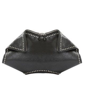 Weve actually never seen a clutch in this silhouette before. Leave it to Sarah Burton to be a handbag pioneer.