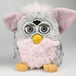 I remember collecting the mini Furbys