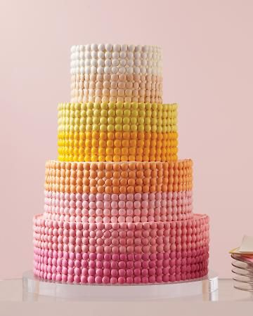 This candy-covered cake is actually a cinch to do yourself.