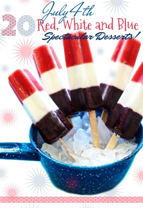 20 Desserts for the 4th of July