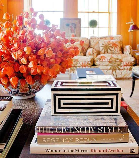 Tory Burch Home Collection.