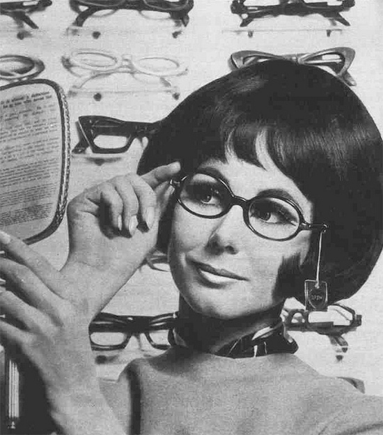 1960s spectacle shopping