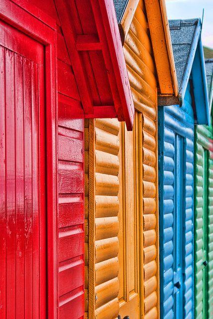Beach Huts, via Flickr.