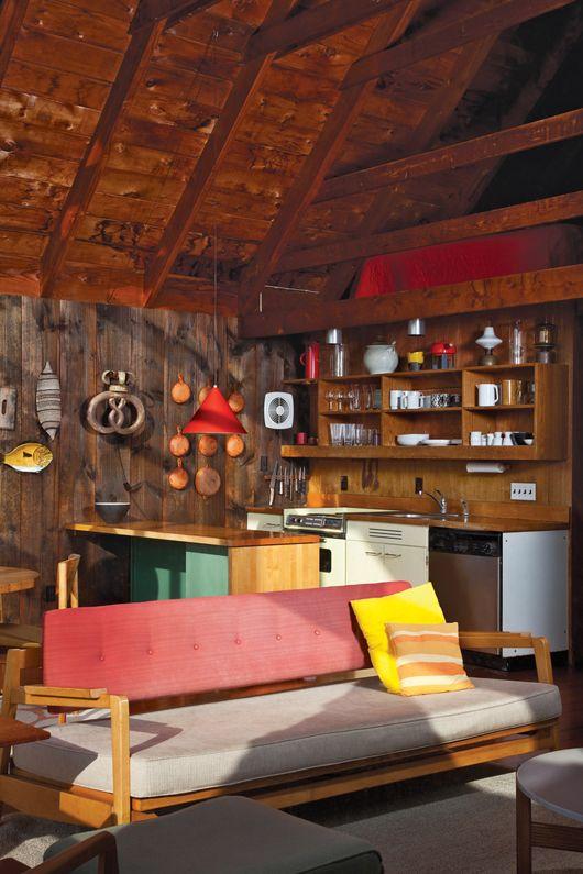 mid-century modern cabin / sfgirlbybay