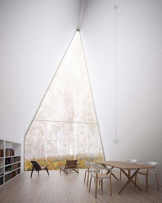 William O'Brien Jr.: Allandale House: A Cabin of Curiosities #roof