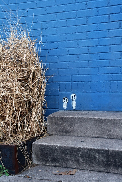 tiny street art by red vine, via Flickr