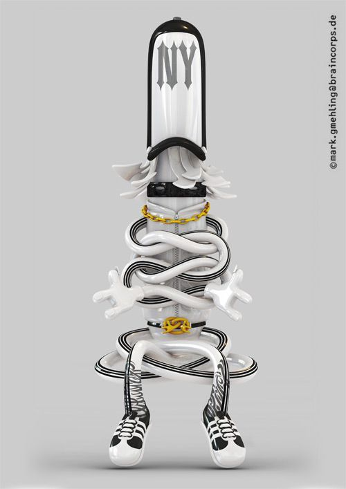 High End-Prints by Mark Gmehling, via Behance