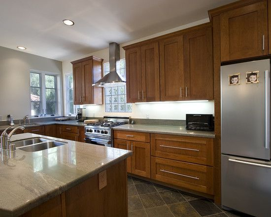 Kitchen Red Birch Cabinets Design, Pictures, Remodel, Decor and Ideas - page 2