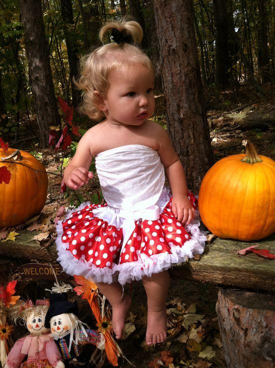 Baby girl fall pic