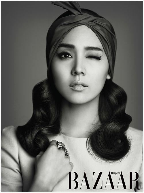 Eugene for Harper's Bazaar Korea, June 2012
