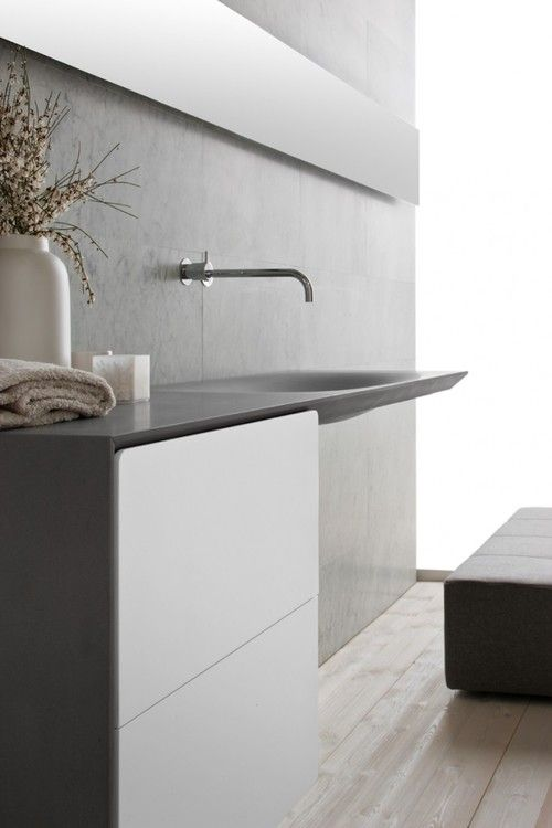 #interiors #design #bathroom #style #minimalism #modern #simple