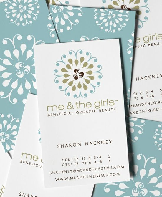 Me And The Girls Business Card