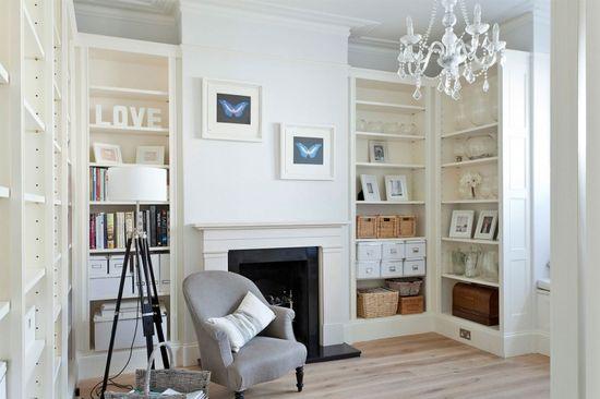 A Crisp White Home in Richmond