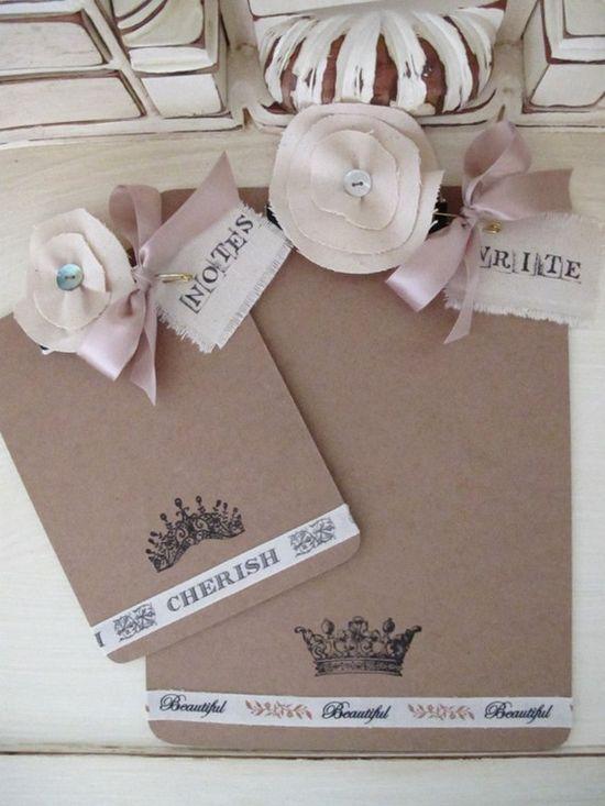 Millinery Flower Clip Boards.