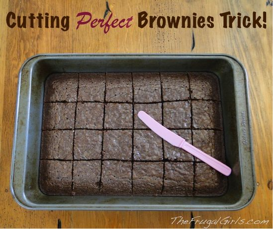 Cutting Perfect Brownies Trick…