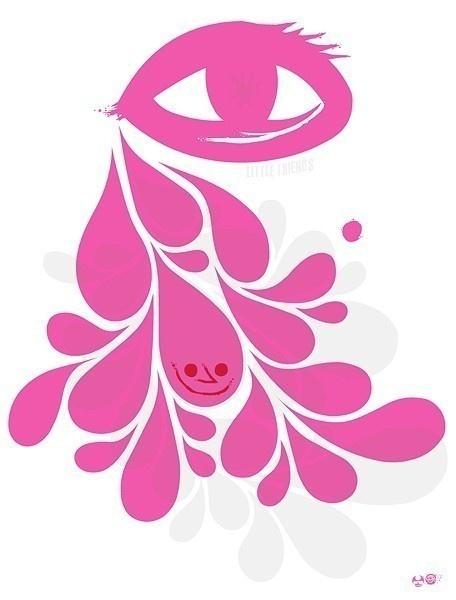 happy tear by lfop