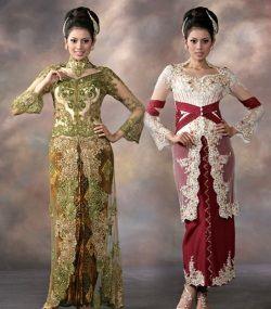 JP: Indonesian  dresses