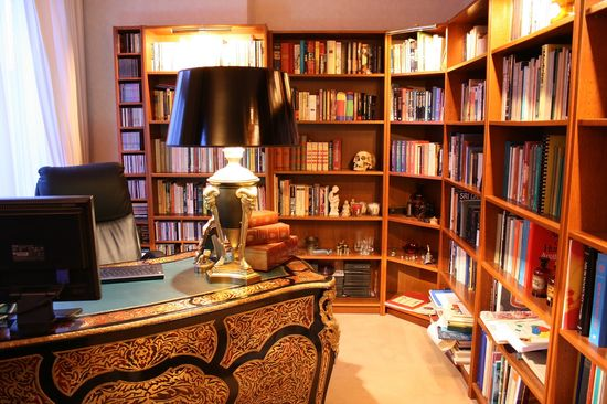 home library #office