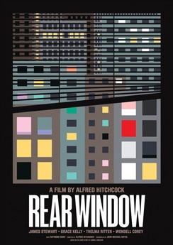 Rear Window directed by Alfred Hitchcock #film #thriller #suspense