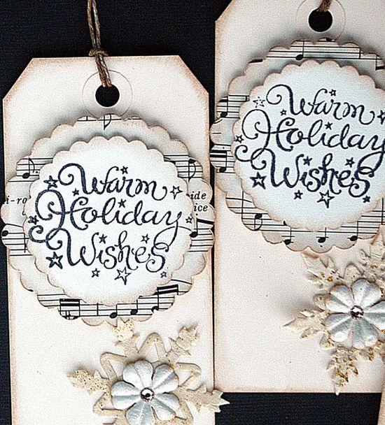 Fabulous Christmas gift tags