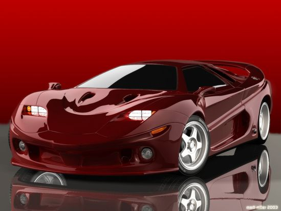 Concept Car Red