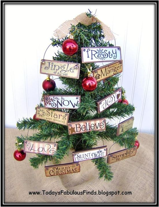 Printable Paint Stick Ornaments