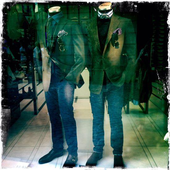 Men's fashion, Italian style.
