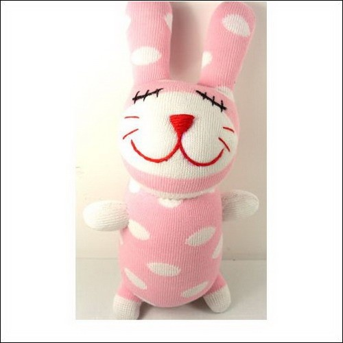 Handmade Sock Rabbit Bunny by Super Sock Monkeys :)