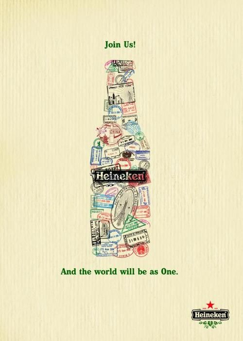 Heineken - Ad Poster