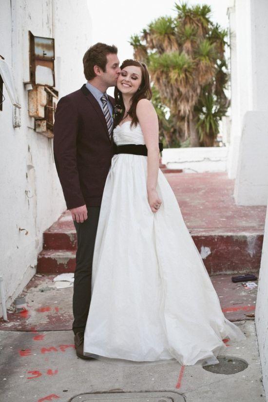 Rustic Chic Wedding Couple