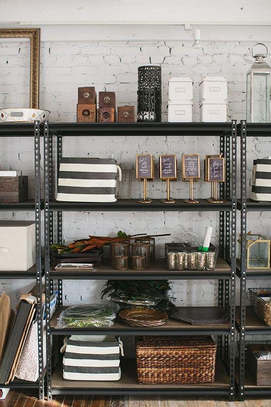 Karson Butler Events design studio // storage inspiration
