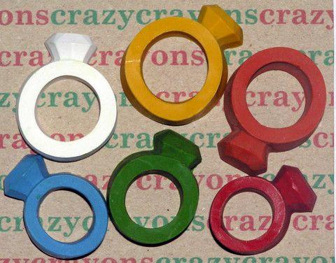 Lelu Crazy Crayon Rings