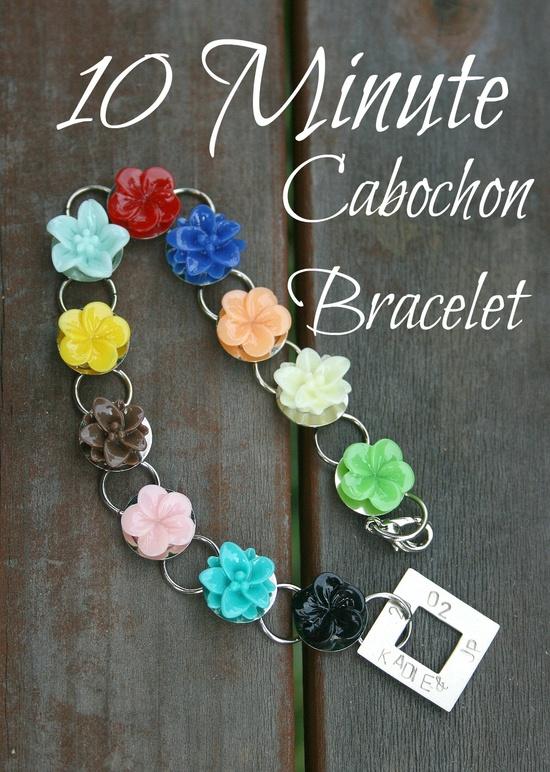 Seven Alive: 10 Minute Cabochon Bracelet