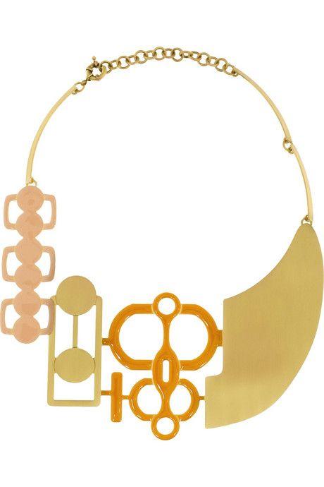 // Missoni necklace.
